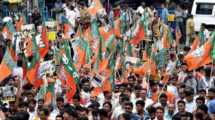 Cut' money: BJP holds statewide protests in West Bengal | India News – India TV