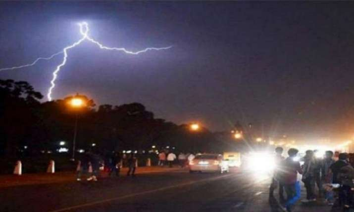 Image result for Lightning strikes people and kills