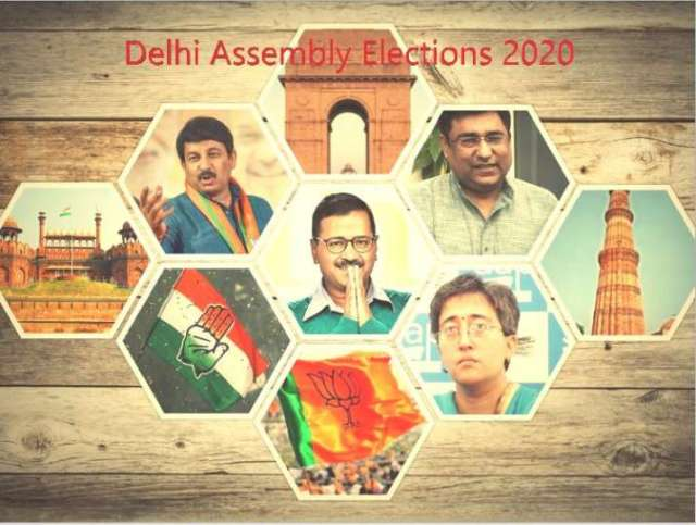Image result for delhi election