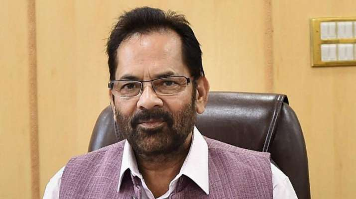 Congress unable to digest strong govt at Centre which cannot be remote-controlled: Mukhtar Abbas Naqvi