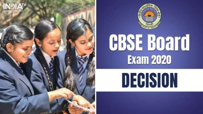 CBSE Board Exam 2020 cancelled