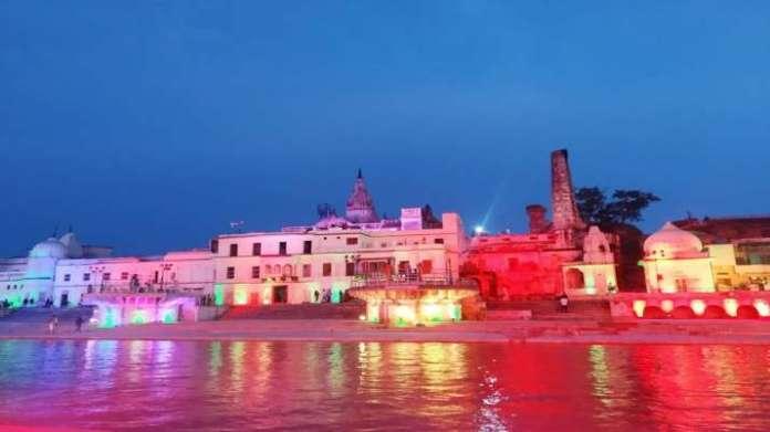 Ayodhya ready in never seen avatar a day ahead of Ram Mandir Bhoomi Pujan  Mesmerising Photos | India News – India TV