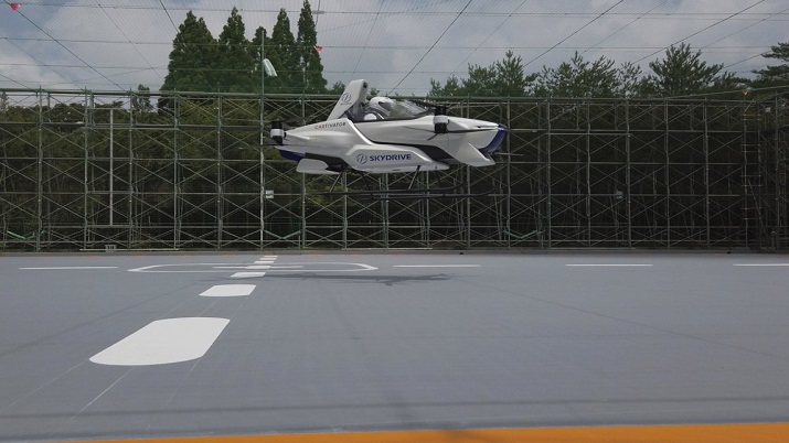 India Tv - Japan flying car