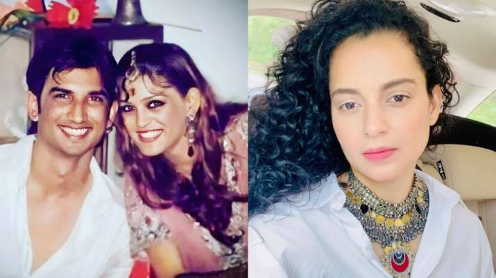 Sushant S Sister Requests For Kangana Ranaut S Protection So That She Can Help In Narcotics Case