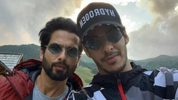 Shahid Kapoor's hilarious reply to brother Ishaan Khatter's compliment