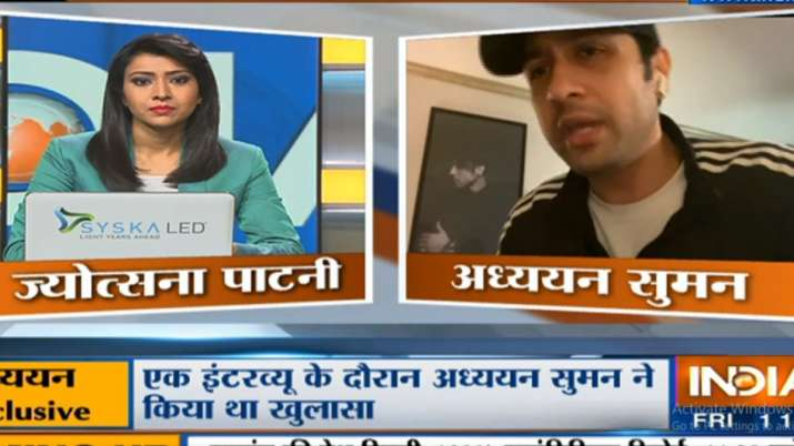 Adhyayan Suman speaks to India TV about drugs probe, Kangana Ranaut and Sushant Singh Rajput death c