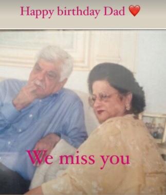 इंडिया टीवी - संजय कपूर ने अपने पिता और मां की एक थ्रोबैक तस्वीर साझा की।