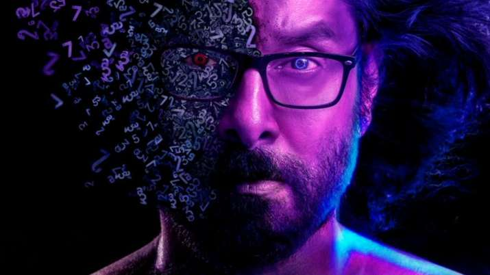 Chiyaan Vikram as a Mathematician impresses in this crime-thriller Cobra