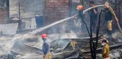 5 injured as cylinder explodes in Delhi's Hari Nagar area