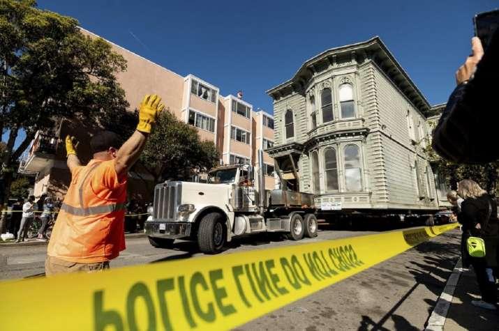 India Tv -  San Francisco house moved