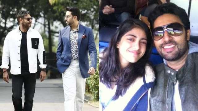 Ajay Devgn, Navya Nanda lead stars in wishing Abhishek Bachchan