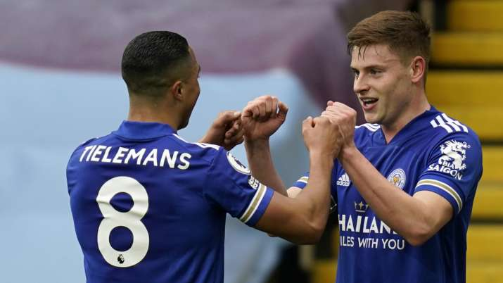 Leicester City strengthen top-4 spot in Premier League with 2-1 win against Aston Villa