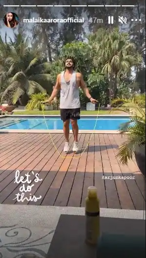 India tv - malaika's instagram story