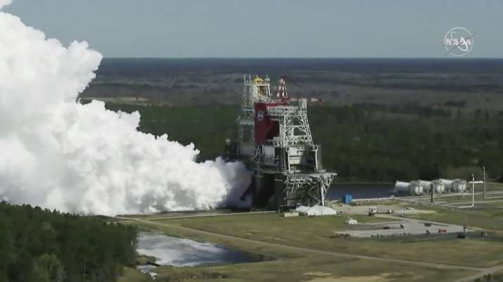 NASA's Artemis Moon rocket passes key test