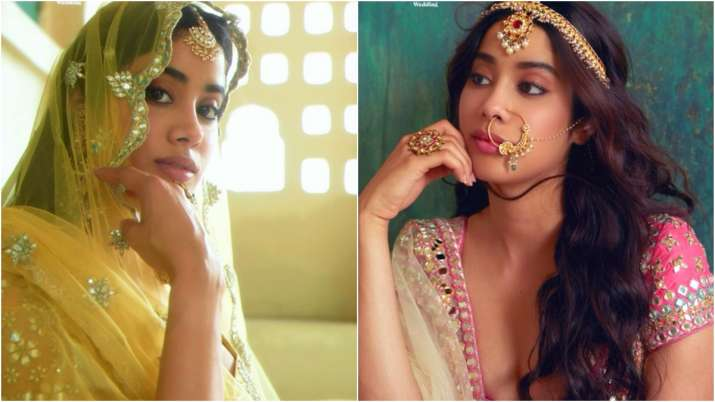 Janhvi Kapoor is scintillating Gen Z bride in mag cover shoot, see gorgeous pics here