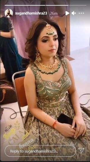 India Tv - Sugandha Mishra
