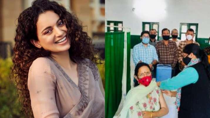 Kangana Ranaut's parents get Covid vaccination, actress says 'waiting for my turn'
