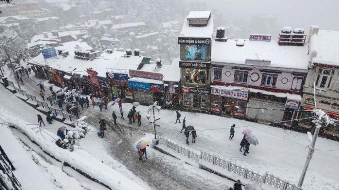 Snowfall in high reaches, rain in other parts of Himachal Pradesh | Latest News Live | Find the all top headlines, breaking news for free online April 24, 2021