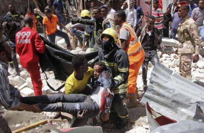 7 killed in suicide bombing in Mogadishu