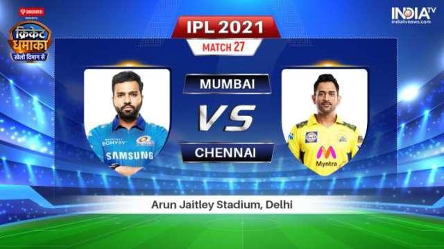 Live IPL 2021 Match MI vs CSK: Where to Watch Mumbai Indians vs Chennai Super Kings Live Online