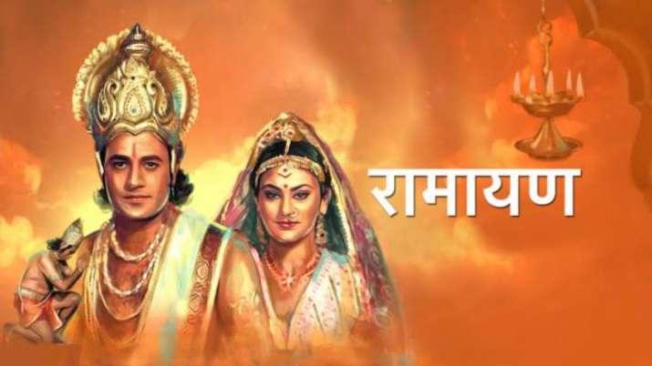 Arun Govil, Dipika Chikhlia's record-breaking epic 'Ramayan' is back on TV   Tv News – India TV
