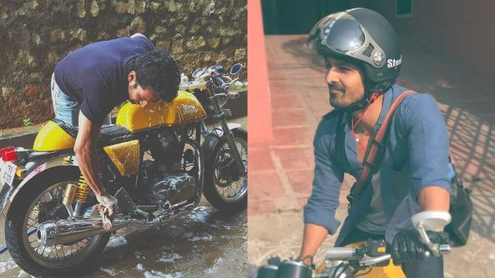 COVID-19: Harshvardhan Rane puts his bike on sale to raise funds for oxygen supplies
