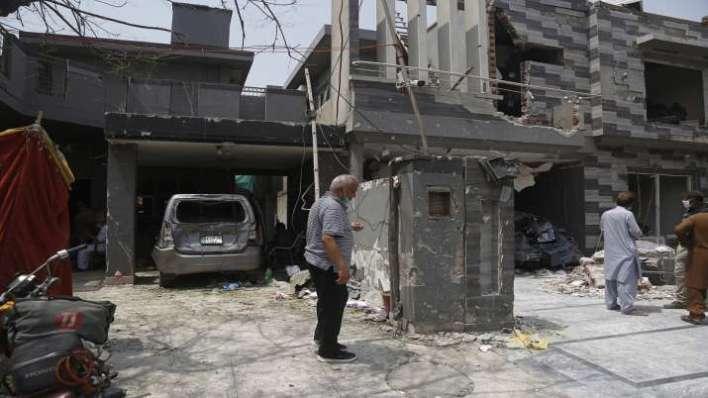 hafiz saeed, lahore blast, blast near hafiz saeed house, india, pakistan, RAW, Research and Analysis