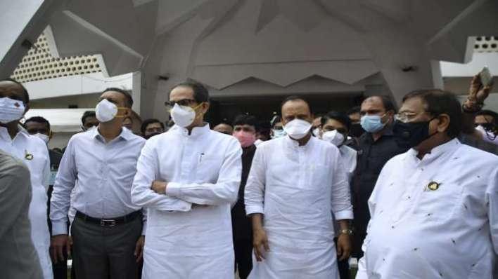 Maharashtra Chief Minister Uddhav Thackeray and Deputy CM