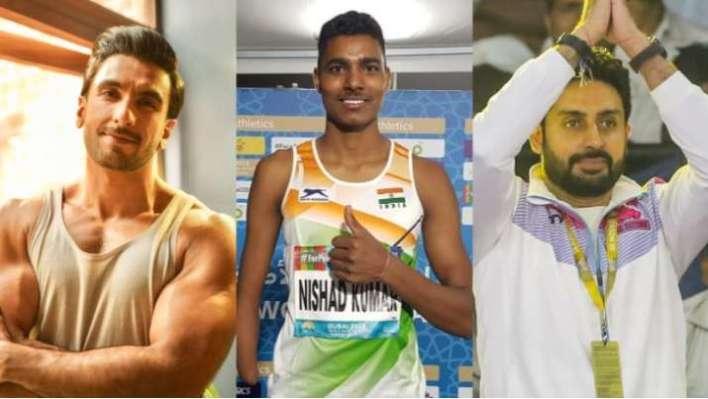 पैरालिंपिक में निषाद कुमार ने जीता सिल्वर: रणवीर सिंह, अभिषेक बच्चन और अन्य ने की तारीफ