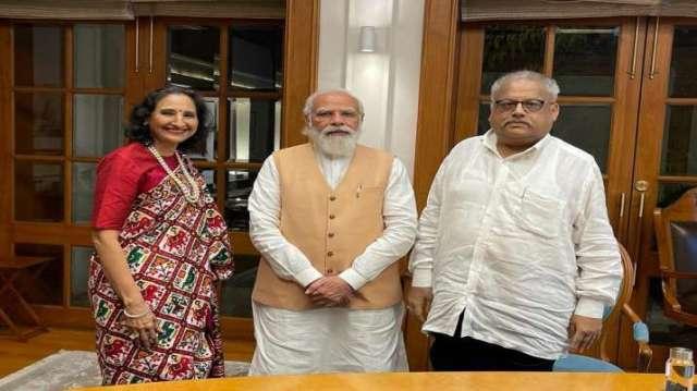 Narendra modi, rakesh jhunjhunwala, stock market