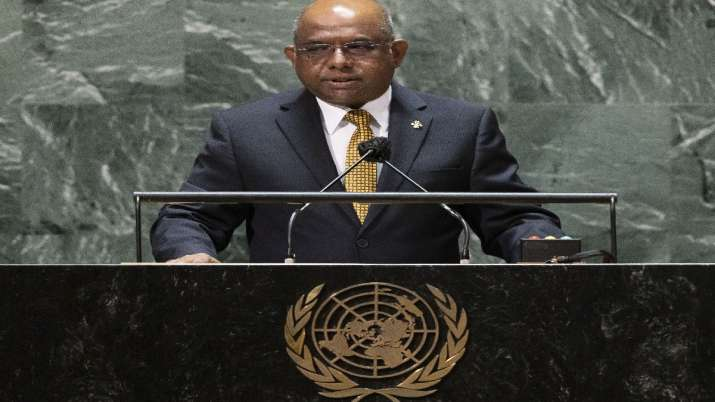 'I got Covishield from India': President of the 76th UN