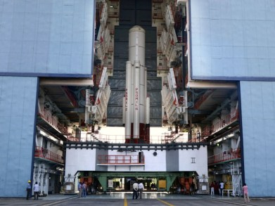 India Tv - PSLV-C34 first stage