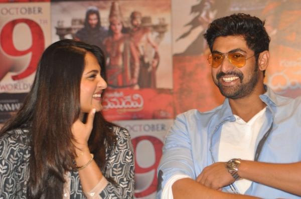 Image result for rana daggubati anushka shetty