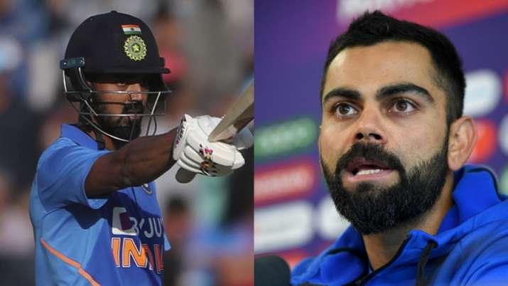 India vs New Zealand KL Rahul Virat Kohli Shikhar Dhwan IND vs NZ - India TV