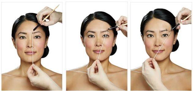 Comment déterminer la bonne forme de sourcils.