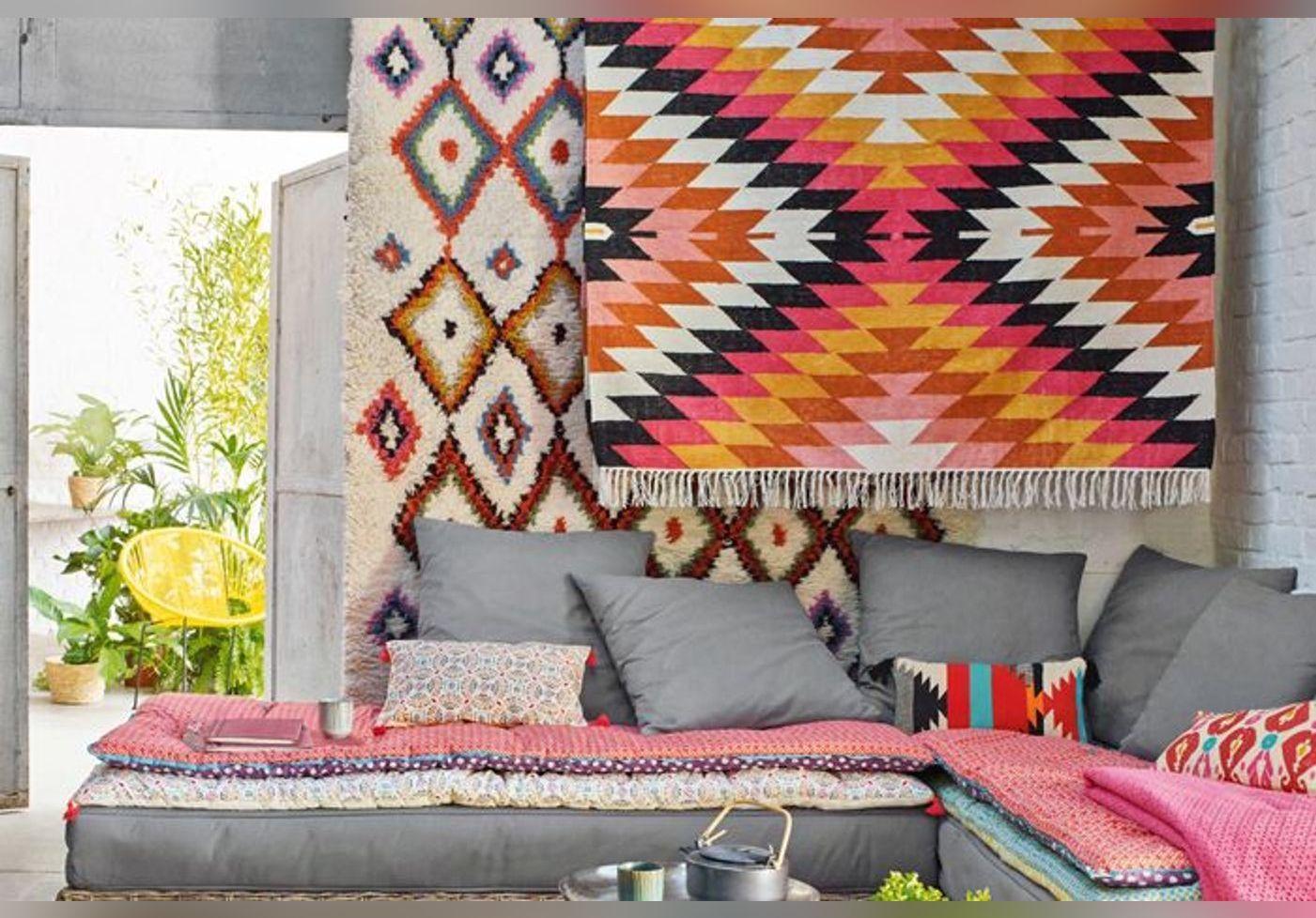 le tapis s invite sur nos murs