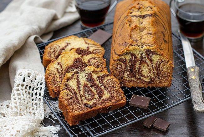 Cyril Lignac Partage La Recette Facile De Son Cake Marbre Chocolat Vanille Et Nous Fait Retomber