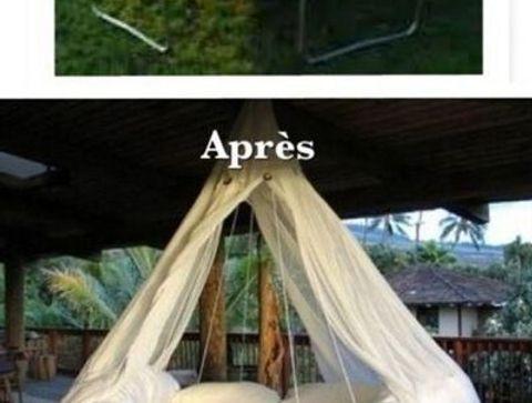 transformer un trampoline en lit de