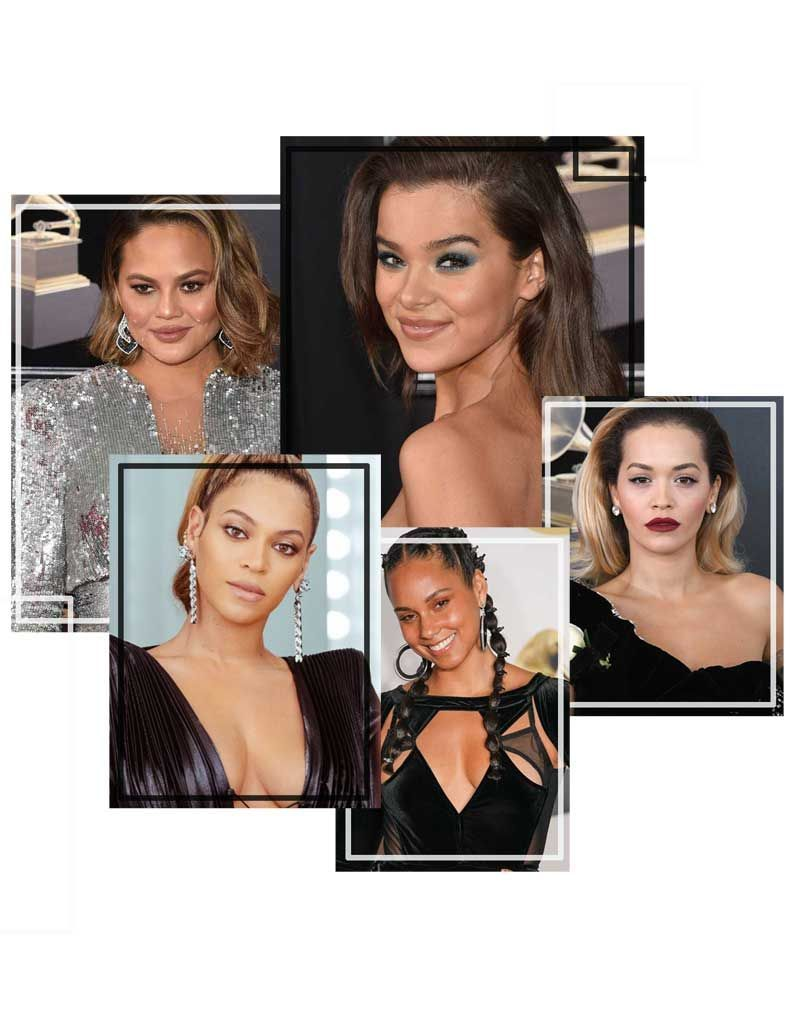 Maquillages de stars sur Grammy Awards 2018
