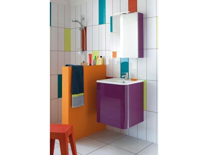 Idee Salle De Bain Couleur Simple Meuble De Salle De Bain Moderne Avec Ide Carrelage Salle De