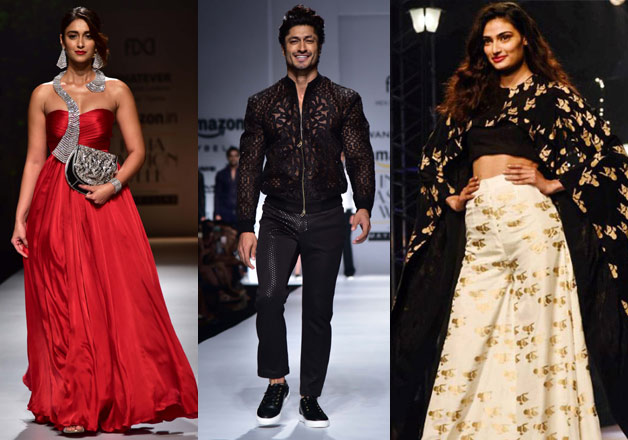 Athiya  Vidyut  Ileana  Celebs who slayed the ramp at Amazon India     Athiya  Vidyut  Ileana  Celebs who slayed the ramp at Amazon India Fashion  Week Spring Summer 2017