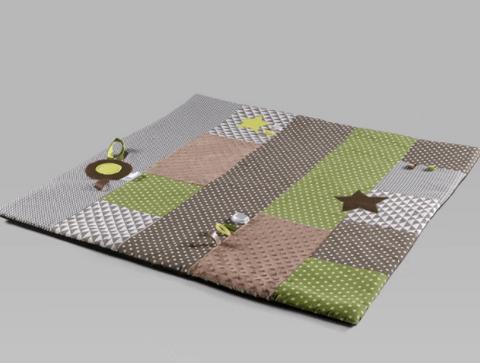 tapis d eveil montessori couleur