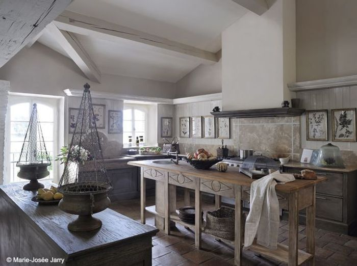 50 Cuisines Style Campagne Elle Dcoration