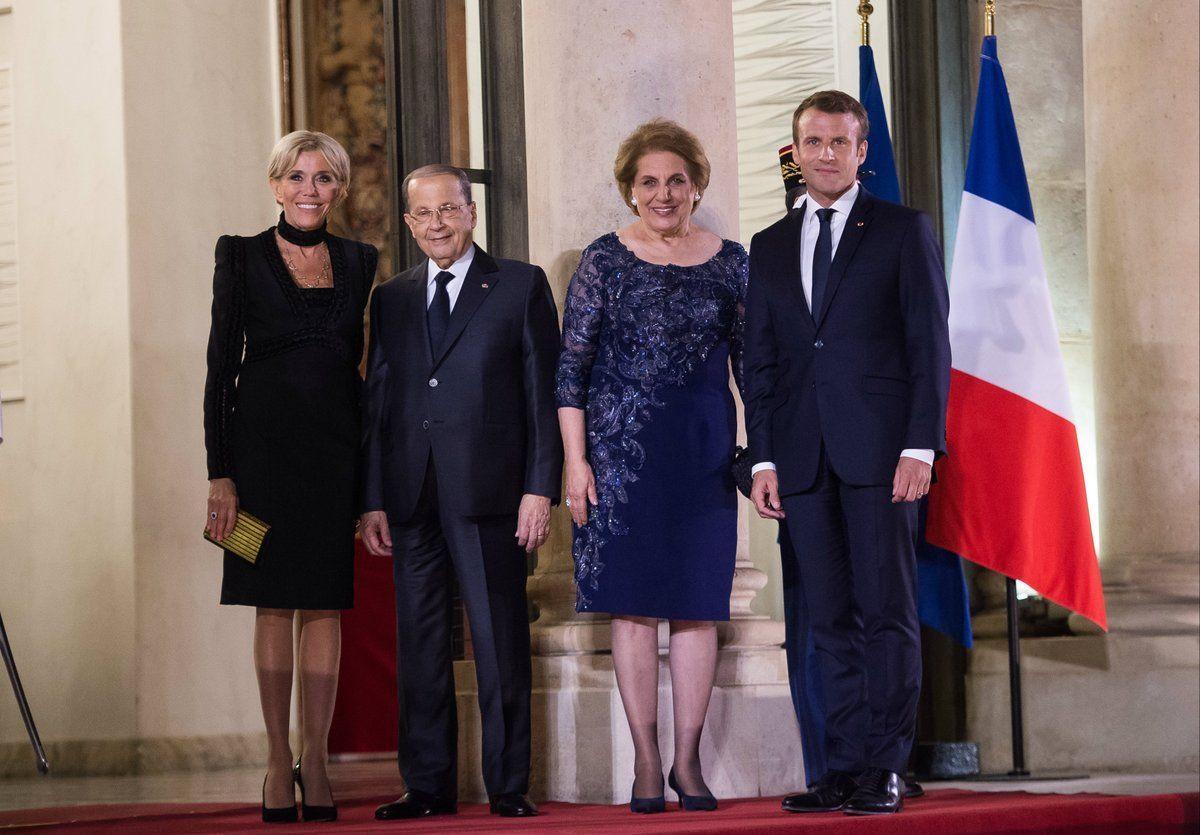 Photos Brigitte Macron Chic Et Sexy Pour Recevoir Le