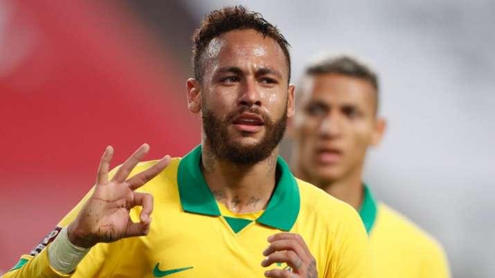 Neymar has scored 64 goals for Brazil, overtaking country's