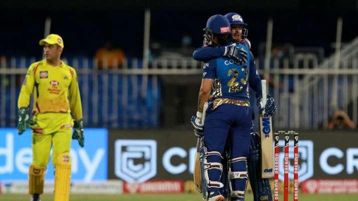 Mumbai Indians handed Chennai Super Kings their first-ever