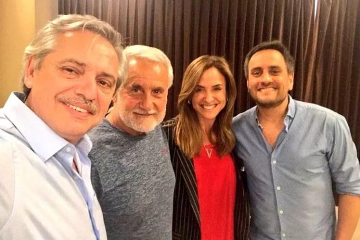 Fernández, Albistur, Tolosa Paz y Juan Cabandié