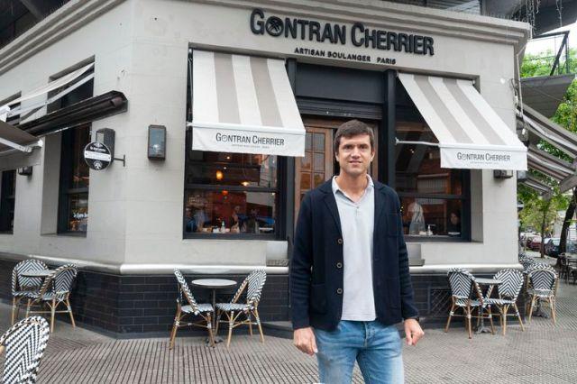 El año próximo Renato planea abrir un local más Gontran Cherrier en Recoleta