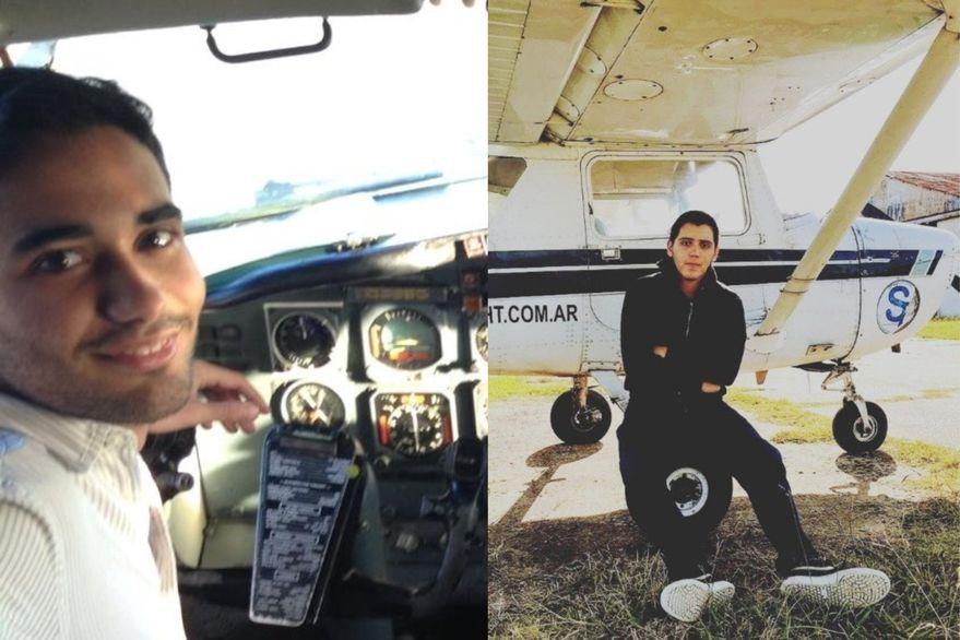 Un instructor de vuelo y un joven piloto, las víctimas fatales de la tragedia en Uruguay