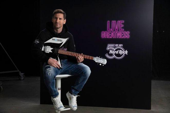 Hard Rock cerró un acuerdo con Messi para promocionar sus restaurantes - LA NACION